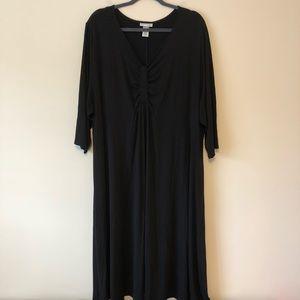 Catherine's 3X/26-28W Black Dress